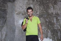 Ritratto di un sorridere dell'uomo Fotografia Stock Libera da Diritti