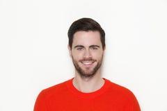 Ritratto di un sorridere maschio del modello di moda Fotografia Stock
