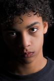 Ritratto di un teenager Fotografia Stock