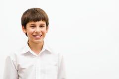 Ritratto di un teenager affascinante Fotografie Stock Libere da Diritti
