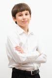 Ritratto di un teenager affascinante Fotografie Stock