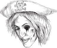 Ritratto di un undead 14 illustrazione di stock