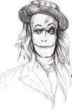 Ritratto di un undead 4 royalty illustrazione gratis