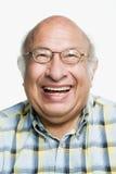 Ritratto di un uomo adulto maturo Immagine Stock Libera da Diritti