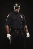 Ritratto di un uomo afroamericano atletico fotografia stock libera da diritti
