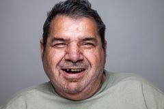 Ritratto di un uomo anziano fotografie stock