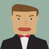 Ritratto di un uomo d'affari. Fotografie Stock Libere da Diritti