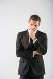 Ritratto di un uomo d'affari Immagini Stock Libere da Diritti