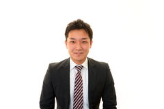 Ritratto di un uomo d'affari asiatico Fotografia Stock Libera da Diritti