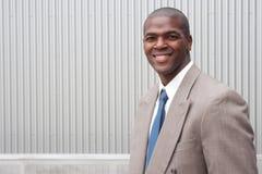 Ritratto di un uomo d'affari dell'afroamericano Fotografia Stock Libera da Diritti