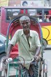 Ritratto di un uomo del Bangladesh povero fotografia stock