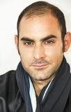 Ritratto di un uomo mediterraneo Fotografia Stock