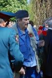 Ritratto di un veterano di guerra Immagini Stock Libere da Diritti