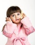 Ritratto di una bambina fotografia stock libera da diritti