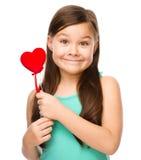 Ritratto di una bambina Fotografie Stock Libere da Diritti