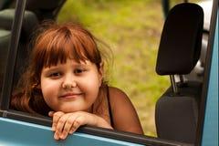 Ritratto di una bambina attraente Fotografia Stock