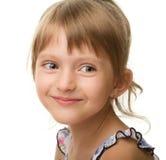 Ritratto di una bambina sveglia immagini stock libere da diritti