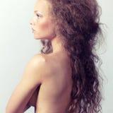 Ritratto di una bionda adorabile Immagine Stock