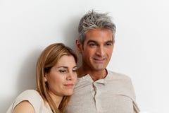 Ritratto di una coppia felice immagine stock libera da diritti