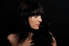 Ritratto di una donna Fotografie Stock