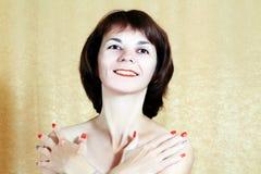 Ritratto di una donna immagine stock