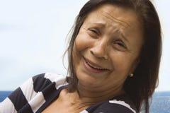 Ritratto di una donna Immagini Stock