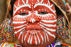 Ritratto di una donna africana Fotografie Stock