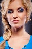 Ritratto di una donna con il carattere Fotografia Stock