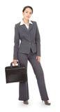 Ritratto di una donna di affari immagini stock libere da diritti