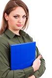 Ritratto di una donna di affari deludente Fotografia Stock Libera da Diritti