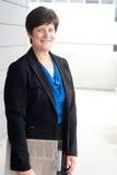 Ritratto di una donna di affari matura Fotografia Stock
