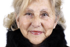 Ritratto di una donna maggiore Immagini Stock