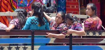 Ritratto di una donna maya Immagine Stock
