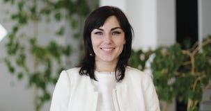 Ritratto di una donna Medio Evo di affari video d archivio