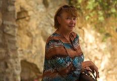 Ritratto di una donna saggia Fotografia Stock Libera da Diritti