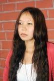 Ritratto di una giovane donna Fotografia Stock Libera da Diritti