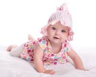 Ritratto di una neonata Immagini Stock