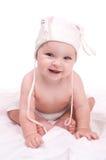 Ritratto di una neonata Fotografia Stock