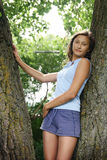 Ritratto di una ragazza immagini stock