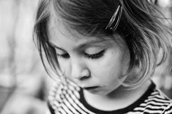 Ritratto di una ragazza Immagine Stock