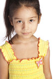 Ritratto di una ragazza Fotografia Stock