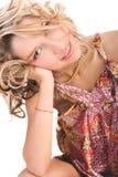 Ritratto di una ragazza bella Immagini Stock