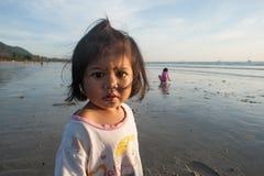 Ritratto di una ragazza dalla Tailandia Immagine Stock Libera da Diritti