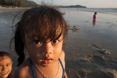 Ritratto di una ragazza dalla Tailandia Immagini Stock Libere da Diritti