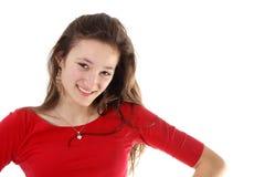 Ritratto di una ragazza dell'adolescente immagine stock libera da diritti