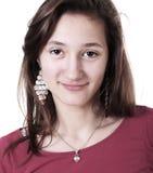 Ritratto di una ragazza dell'adolescente immagini stock libere da diritti