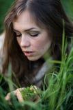 Ritratto di una ragazza italiana Fotografie Stock