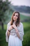 Ritratto di una ragazza italiana Immagini Stock