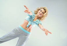 Ritratto di una signora dell'atleta Fotografie Stock