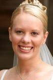 Ritratto di una sposa Immagini Stock
